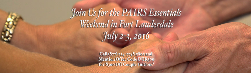 PAIRS Essentials in Fort Lauderdale June 25-26, 2016.