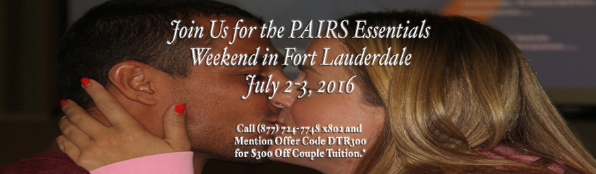 Mention Offer DTR for $300 off couples tuition.